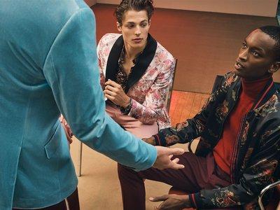 Zara se inspira en Gucci para vestirse de fiesta ¡y nos encanta!