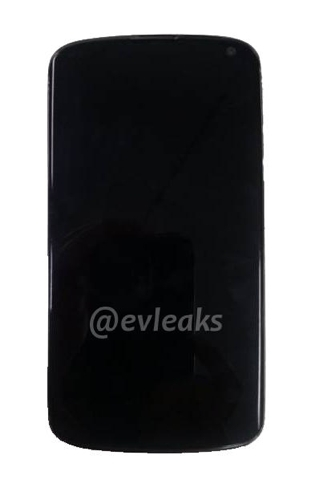 LG Nexus 4, supuesta imagen oficial, especificaciones filtradas y nombre confirmado