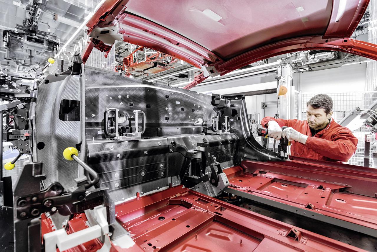 Foto de Audi R8 fabricación (1/8)