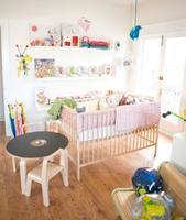 Ambientes económicos: una habitación muy sencilla para tu bebé