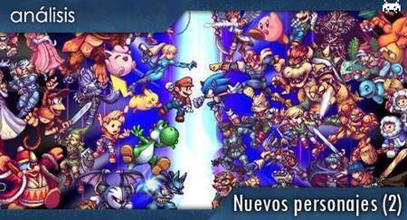 Los nuevos luchadores de Smash Bros. Brawl