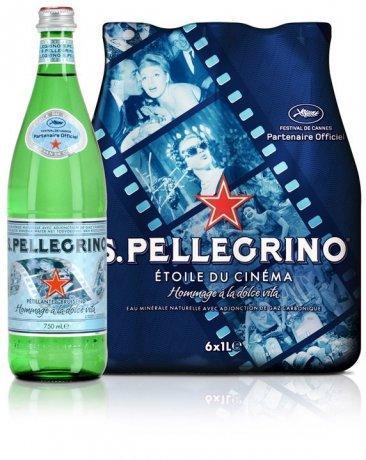 San Pellegrino en edición especial para el Festival de Cannes