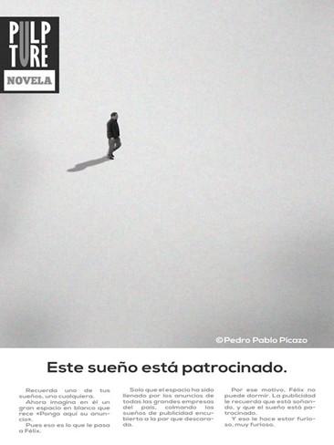 'Este sueño está patrocinado' de Pedro Pablo Picazo
