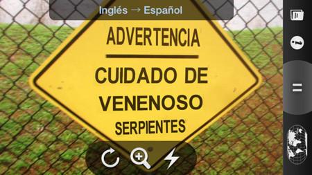 Word Lens para iOS se vuelve completamente gratuita tras su adquisición por Google