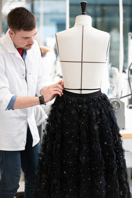 Dior Autumn Winter 2019 2020 Savoir Faire Skirts C Sophie Carre 3