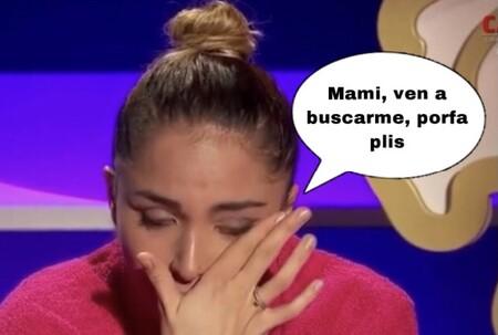 Sandra Pica rompe a llorar sin consuelo al hablar con su madre en 'La Casa Fuerte'