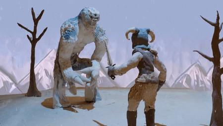 Tus recuerdos en Skyrim se vuelven realidad en este vídeo hecho con plastilina