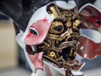 Esta es la impresionante tecnología que hay detrás de las Geishas robóticas de 'Ghost in the Shell'