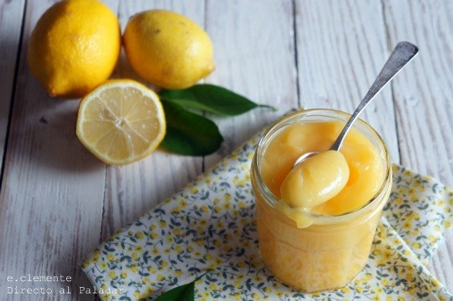 Lemon curd en microondas