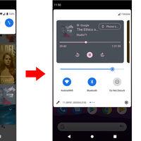 Android 11 puede agrupar todas las notificaciones de reproducción multimedia en un carrusel