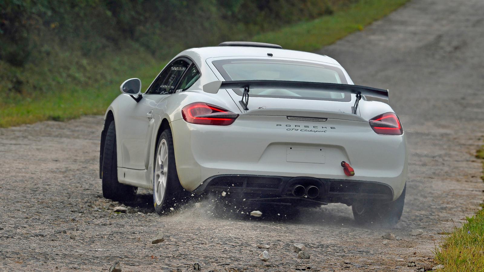 Foto de Porsche Cayman GT4 Clubsport (11/16)
