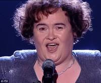 ...Y Susan Boyle quedó segunda