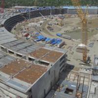 Un paseo completo por todo el Apple Campus 2, a vista de dron y en 4K