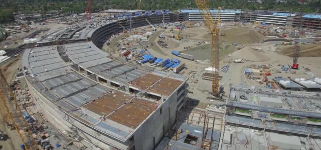Julio de 2016: así es la evolución del Apple Campus 2