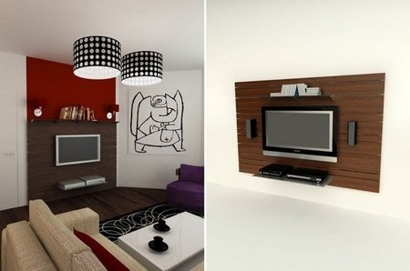 Wall, un sistema flexible para colocar el equipo audiovisual en casa