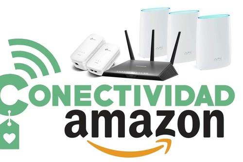 11 ofertas de Amazon para mejorar tu WiFi: routers, switches, extensores y sistemas Mesh de Netgear, TP-Link y Linksys a precios rebajados