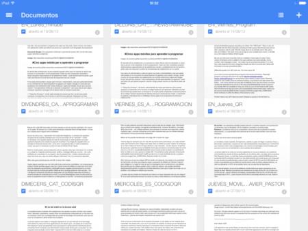 Documentos y Hojas de cálculo: Google divide su Drive en aplicaciones separadas para iOS