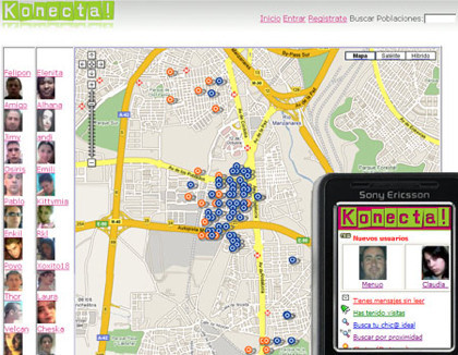 Konecta2, ligar a través del móvil