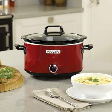 Amazon Prime 2020: la olla de cocción lenta Crock-Pot SCV400RD por menos de 30 euros y envío gratis