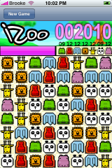iZoo, estupendo clon de Bejeweled para iPhone e iPod Touch