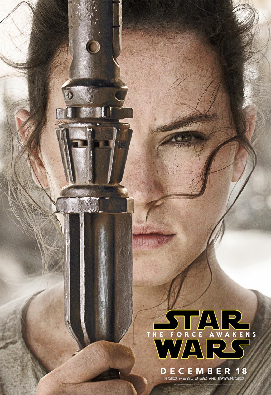 'Star Wars: El despertar de la fuerza', todos los carteles del Episodio VII