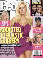 Heidi Montag adicta a la cirugía