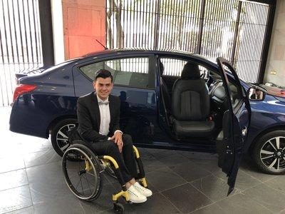 Nissan lanza para México el primer modelo adaptado de fábrica para personas con discapacidad