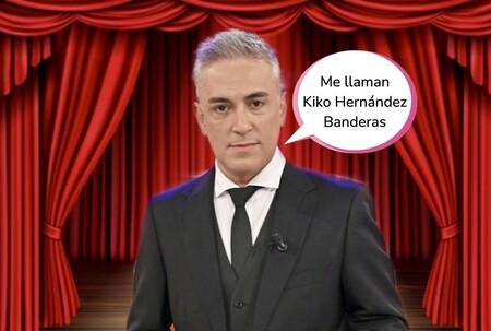 Kiko Hernández se hace un Jorge Javier Vázquez y se sube al escenario: los detalles de su estreno en el teatro