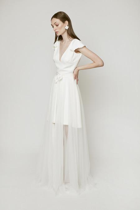 ef1b75dd82 19 vestidos de novia cortos para dar el sí quiero con un look diferente