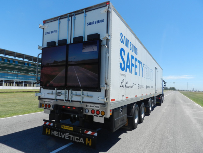Samsung Safety Truck 1