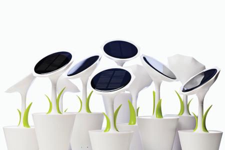 Una 'planta' solar para cargar tus dispositivos