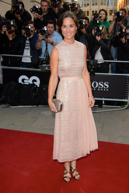 Pippa Middleton rosa
