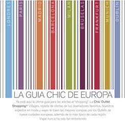 Shopping de lujo: la Guía Chic de Europa. Las Rozas Village en Madrid