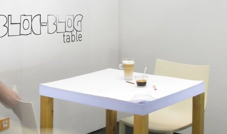Bloc Blog Table, una mesa para bloggers 1.0