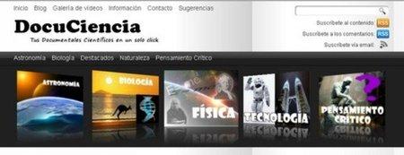 DocuCiencia: tus documentales científicos en un solo click