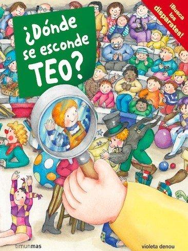 """""""¿Dónde se esconde Teo?"""", busca a Teo y los disparates"""