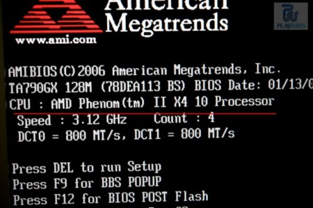 AMD Phenom II X4 10