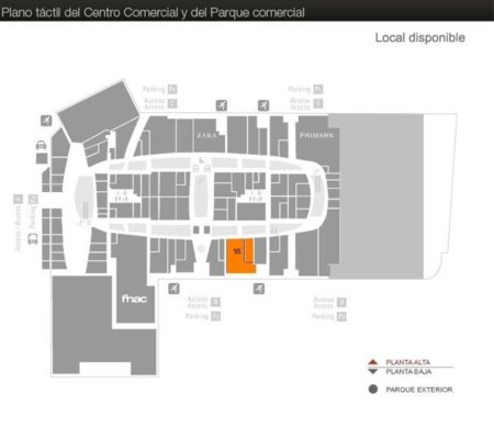 apple store murcia plano nueva condomina centro comercial