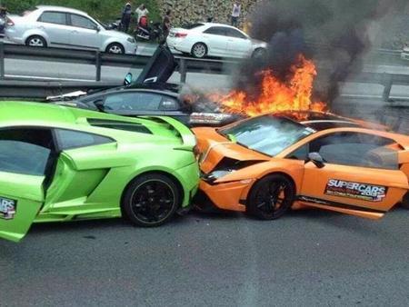 Dolorpasión™: triple fondue de Lamborghini a la malaya