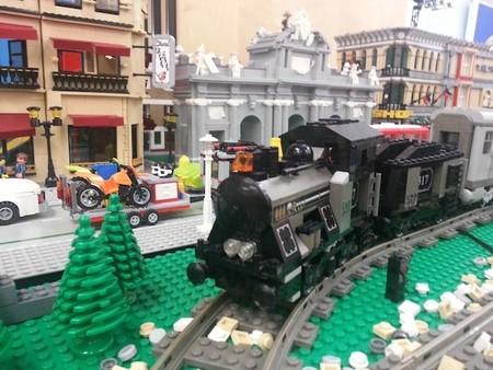 """El próximo fin de semana se celebra el """"I Evento Ferroviario"""": una exposición viva construida con piezas de LEGO"""