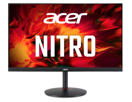 Acer XV252Q F: hasta 390 Hz en pantalla, con HDR y resolución 1080p para el nuevo monitor gaming de Acer