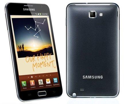 Se confirma que el Samsung Galaxy Note II será presentado en agosto