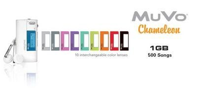 Creative MuVo Chameleon, colores intercambiables
