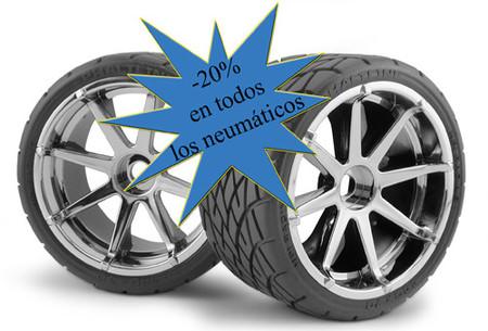 Neumáticos de coche: sustitúyelos ahorrando un 27%