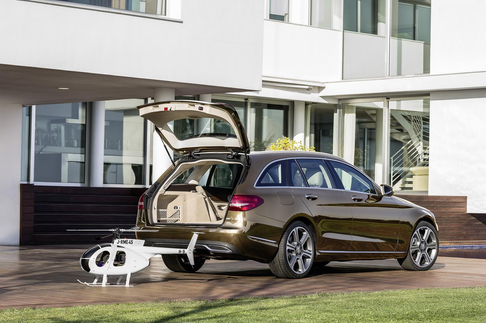 Foto de Mercedes-Benz Clase C Estate 2014 (7/36)