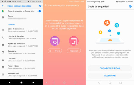 Copias Seguridad Android