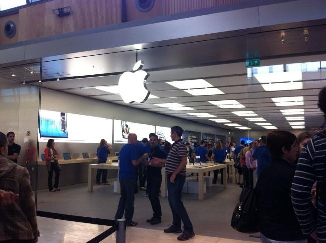 apple store zaragoza inauguración