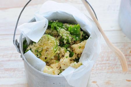 Quinoa, un ingrediente popular y saludable para añadir a tus platos