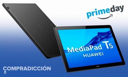 Nunca has visto esta tableta tan barata: Amazon tiene la Huawei MediaPad T5 a sólo 103 euros por el Prime Day