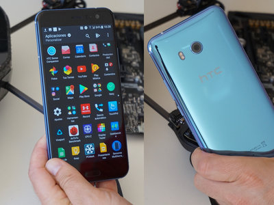 HTC U11, análisis: llamativo, potente y con una de las cámaras del momento